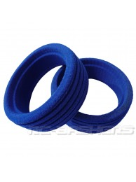 Blue molded foam inserts for 1/8 buggy tires 4pcs